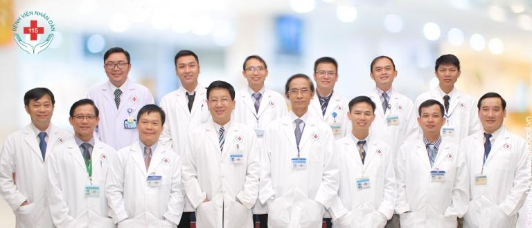 Đội ngũ bác sĩ tại bệnh viên Chấn Thương Chỉnh hình TPHCM