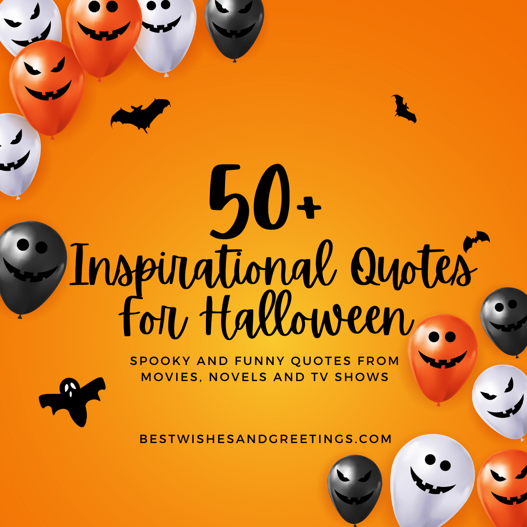 Inspirational Quotes for Halloween