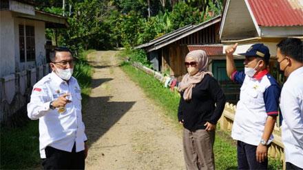 Tinjau Ruas Jalan Jorong Padang Laweh ke Cubadak Randah