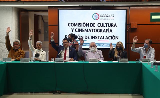 instalada la Comisión de Cultura y Cinematografía