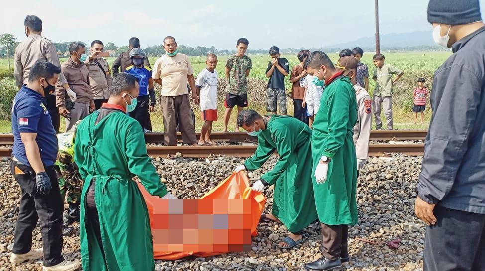 Tertabrak Kereta di Gombong, Warga Purbalingga Tewas