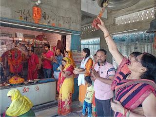 आस्था व श्रद्धा का केन्द्र है श्री मां आद्याशक्ति दक्षिणा काली मंदिर    #NayaSaberaNetwork