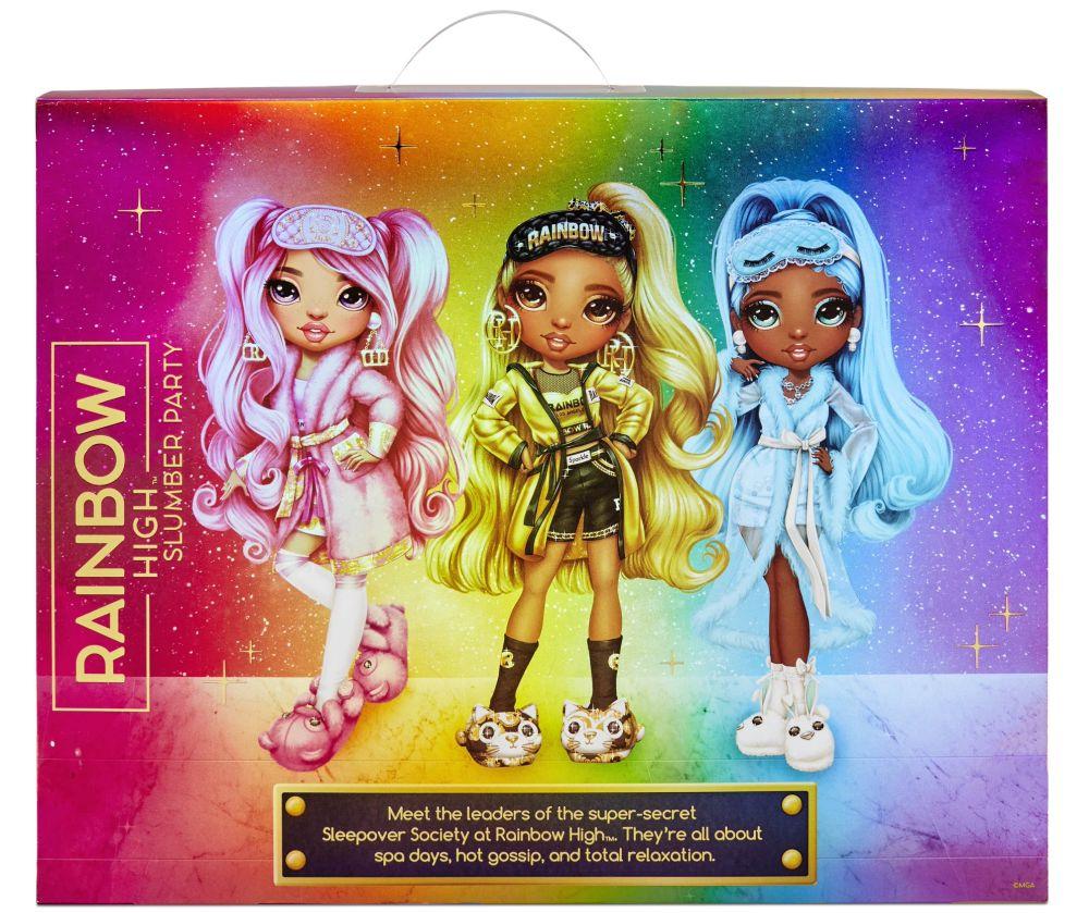 Куклы Rainbow High Slumber Party 2021