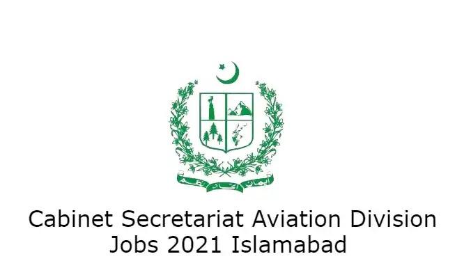 Cabinet Secretariat Aviation Division Islamabad Jobs 2021 Application form