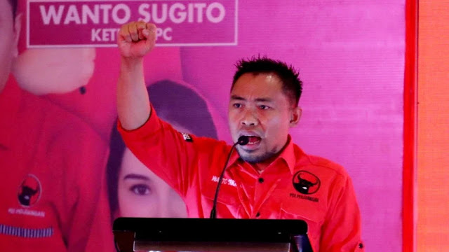Bung Klutuk: Siapa yang Menyentuh Bu Mega dan PDIP, Kami Lawan!