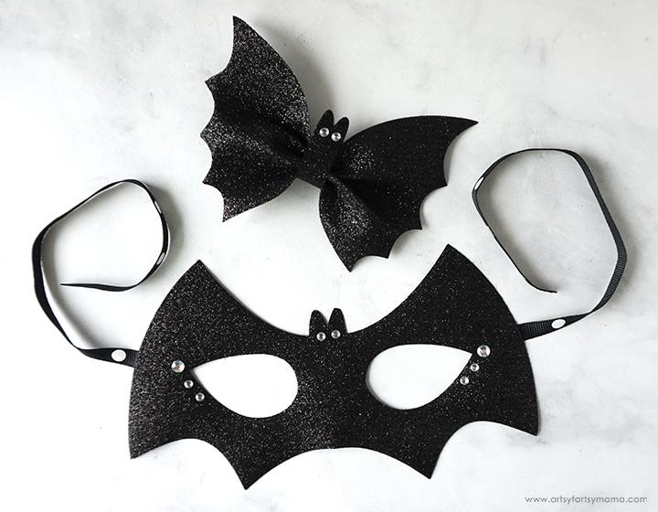 DIY Bat Costume Accessories