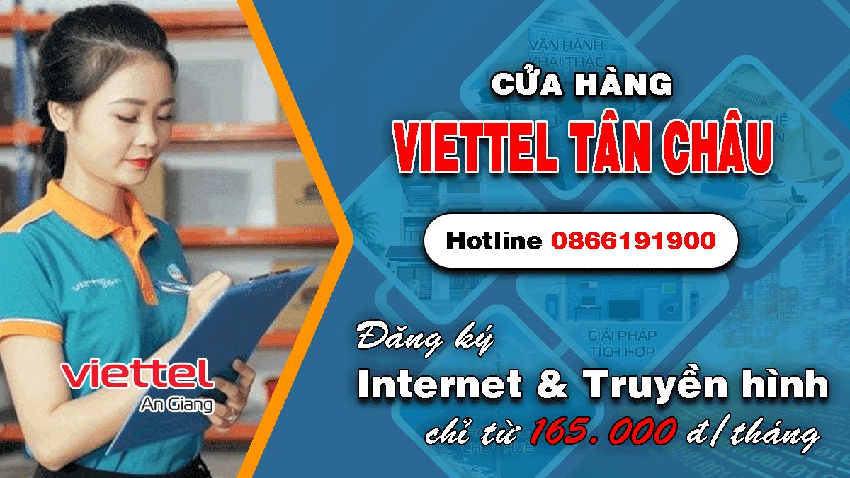Cửa hàng Viettel huyện Tân Châu
