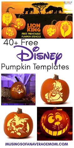 pumpkin carving ideas disney