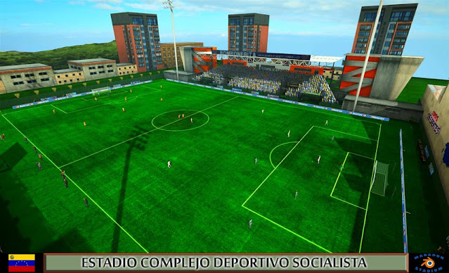 Estadio Complejo Deportivo Socialista For PES 2013
