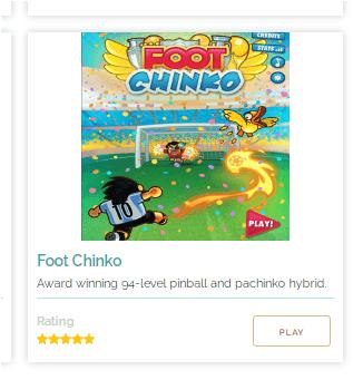 Game Online: Foot Chinko: Fun Pinball + Pachinko Hybrid Soccer Game