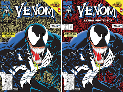 New York Comic Con 2021 Exclusive Venom Lethal Protector #1 Cover Artwork Screen Prints by Mark Bagley x Bottleneck Gallery x Marvel