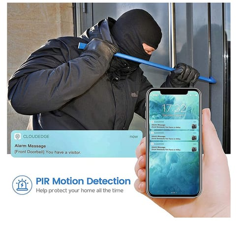 Morecam 1080P HD WiFi Video Doorbell Camera