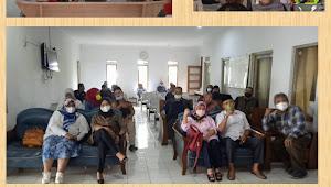 Peserta Calon Kades Gelar Deklarasi Damai,jelang Pilkades Serentak Desa Jatiendah Kec.Cilengkrang