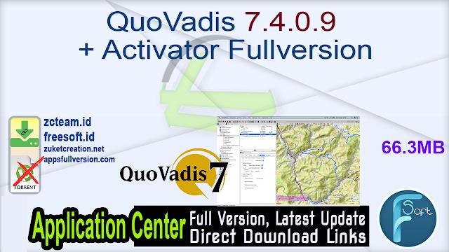 QuoVadis 7.4.0.9 + Activator Fullversion