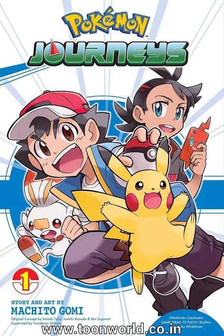 Pokémon Journeys: The Series Manga Ends