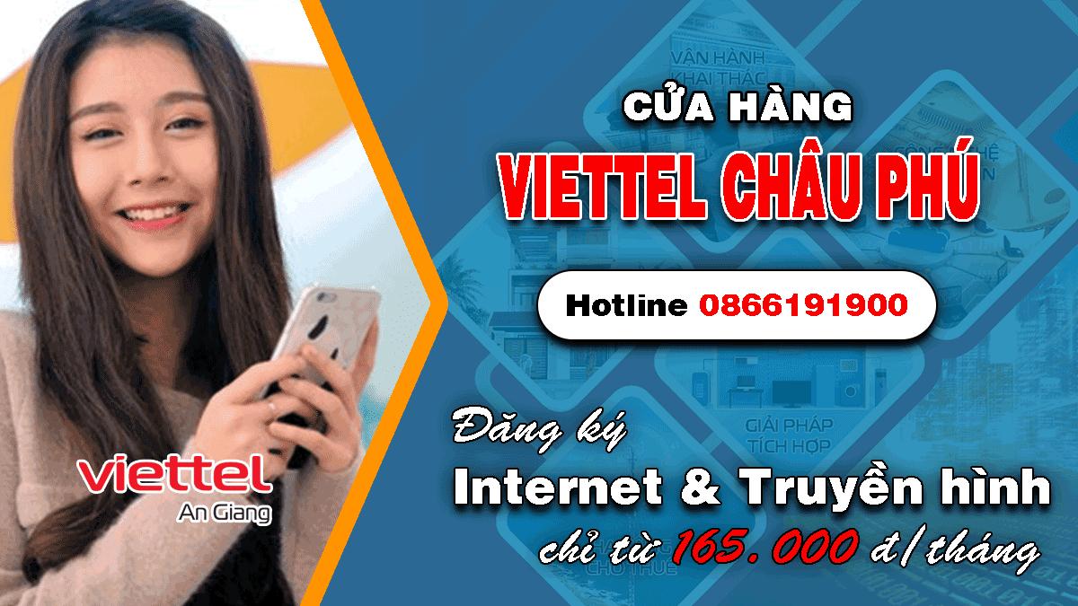 Cửa hàng Viettel huyện Châu Phú An Giang