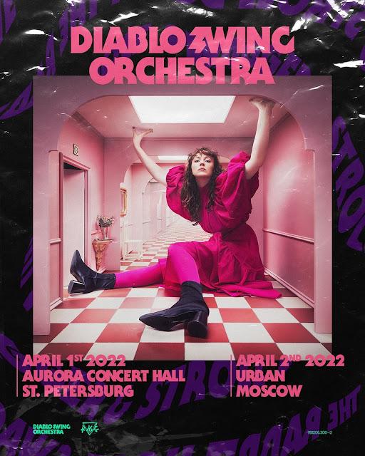 Diablo Swing Orchestra в России