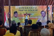 HUT Ke 57 Partai Golkar DPD Kabupaten Bekasi Dengan Menyantuni Anak Yatim