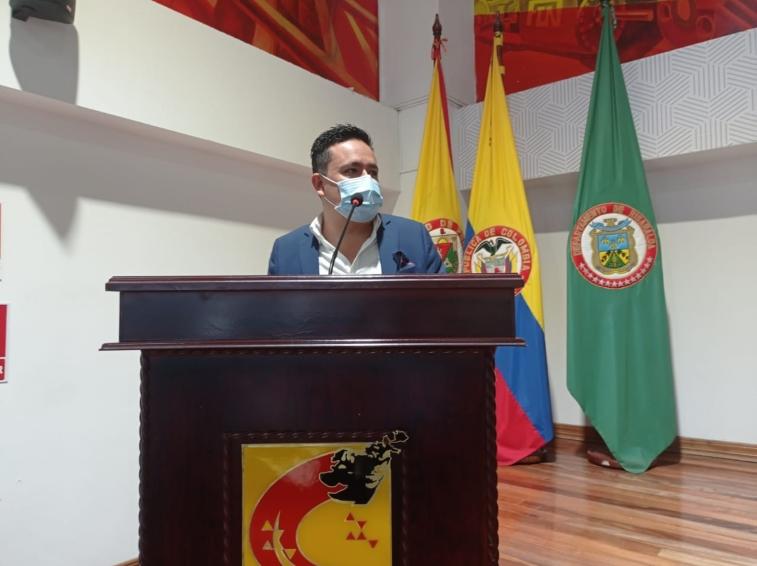Secretario de planeación presentó informe de gestión ante el Concejo de Pereira