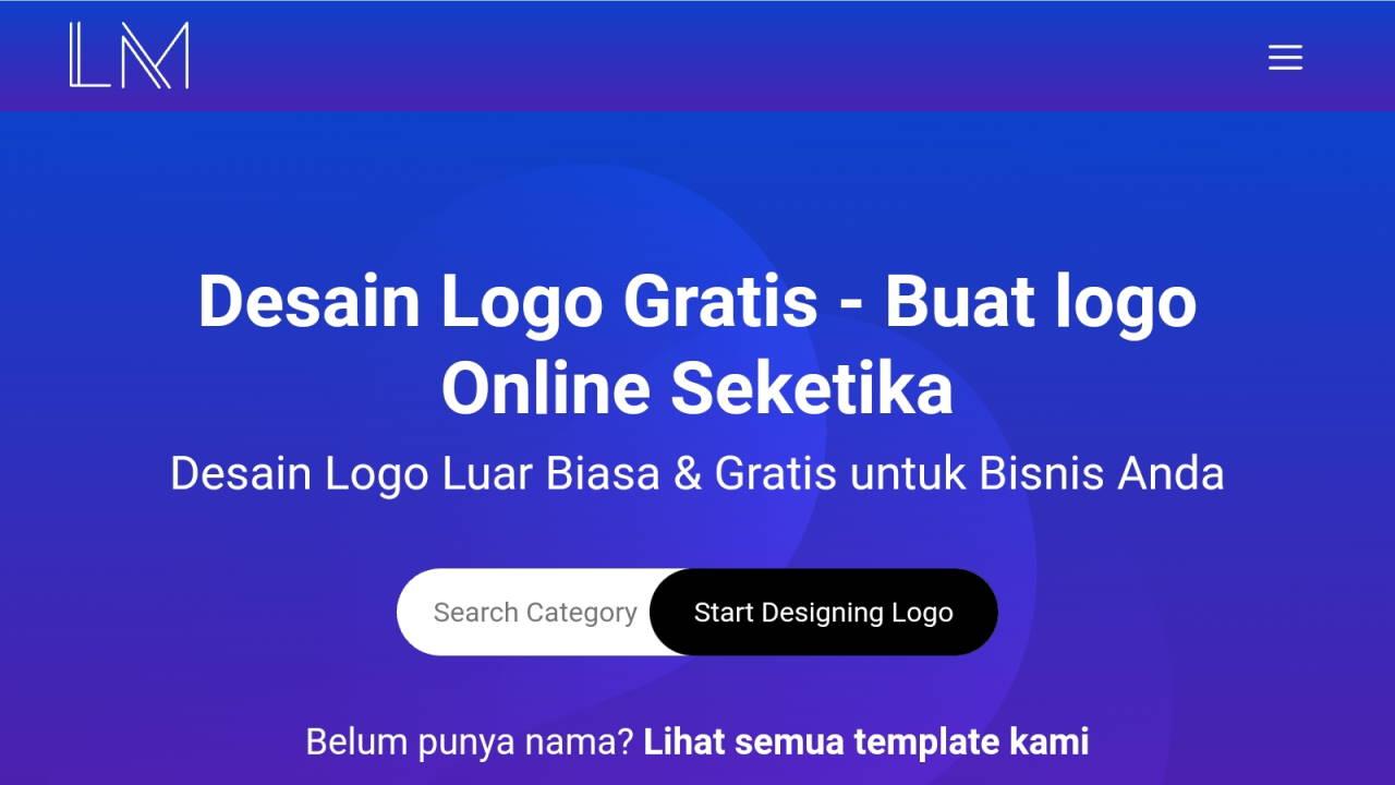 Membuat Logo Gratis dengan Alat Desain Logo Canggih