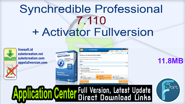 Synchredible Professional 7.110 + Activator Fullversion