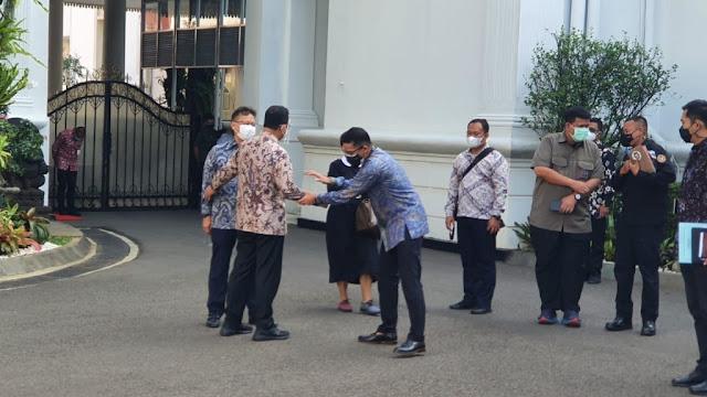 Temui Jokowi di Istana, Anies Lapor Pandemi Covid-19 di Jakarta Sudah Terkendali