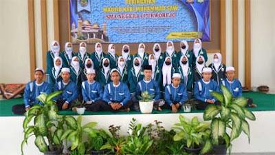 SMAN 4 Purworejo Peringati Maulid Nabi Muhammad SAW