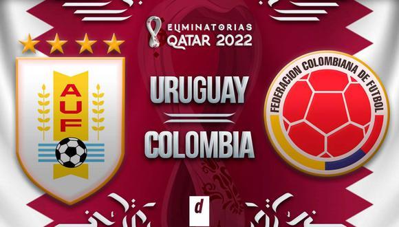 Uruguay vs. Colombia EN VIVO vía VTV: horarios y canales de TV por Eliminatorias