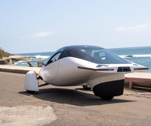 Aptera Car Backside