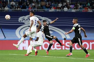 يخسر ريال مدريد 1-2 على أرضه أمام الشريف في دور المجموعات بدوري أبطال أوروبا