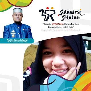 Twibbon atau Bingkai Foto Hari Jadi ke 352 Sulawesi Selatan, 19 Oktober 2021