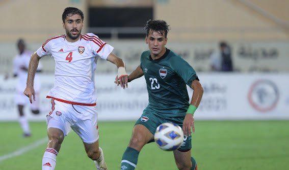 ملخص اهداف مباراة الامارات والعراق (2-2) تصفيات كأس العالم