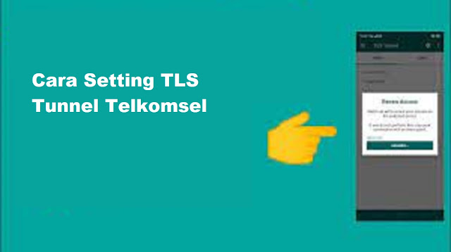 Cara Setting TLS Tunnel Telkomsel
