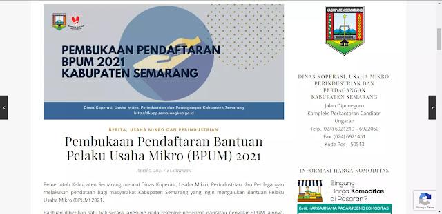 BPUM Kabupaten Semarang