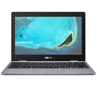 """$119, ASUS 11.6"""" Chromebook: Intel Celeron N3350, 4GB Memory, 32GB EMMC + Free Curbside Pickup at Best Buy or Free Shipping"""
