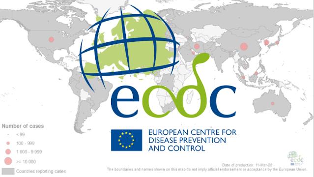 Κορωνοϊός Ελλάδα: Πτώση των δεικτών καταγράφει ο ECDC