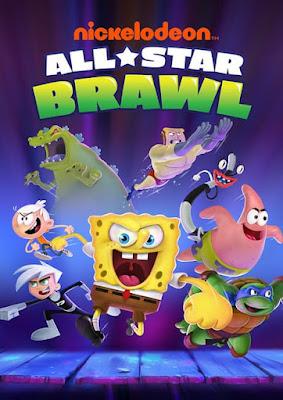 Capa do Nickelodeon All-Star Brawl