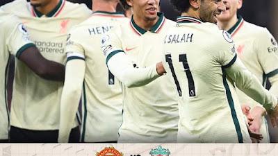 Liverpool Bantai MU 5-0 di Old Trafford, Ronaldo Frustasi dan Pogba Kartu Merah