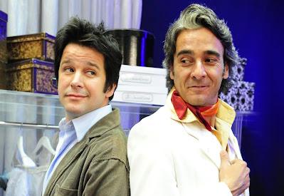 Ari (Murilo Benício) e Jacques (Alexandre Borges) em Ti Ti Ti