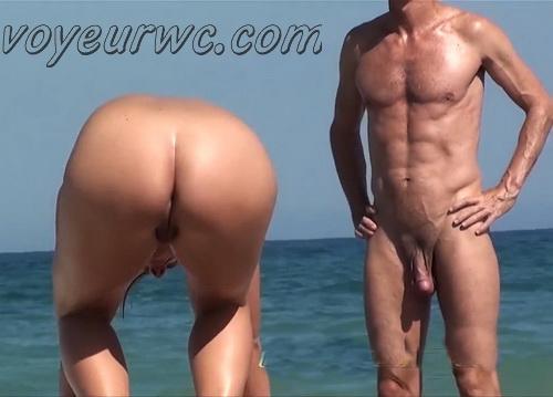 Nude sun tanning women a beach spy cam (BeachVoyeur 55-58)