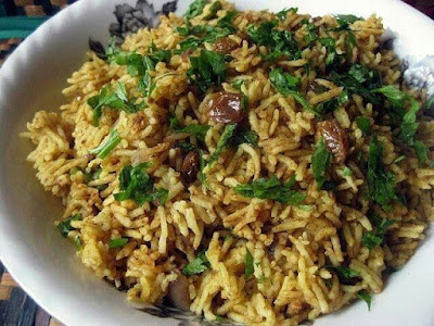 Nasi Briyani Kurma Daging
