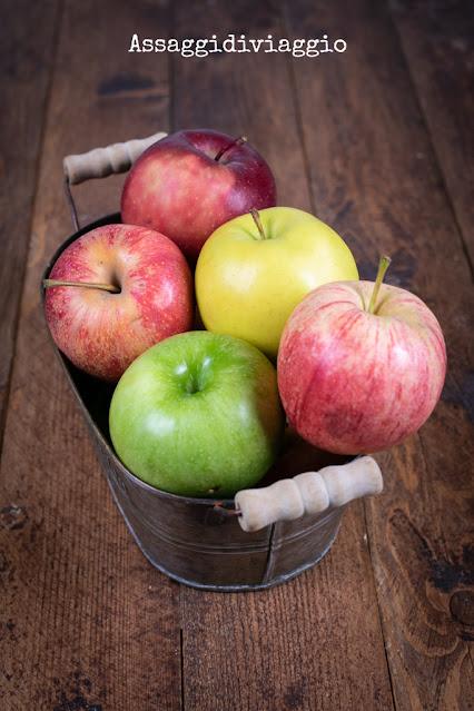 Crostata di mele con crema frangipane