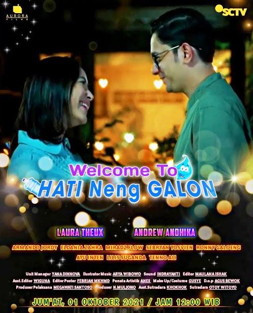 Nama Pemain FTV Welcome To Hati Neng Galon SCTV