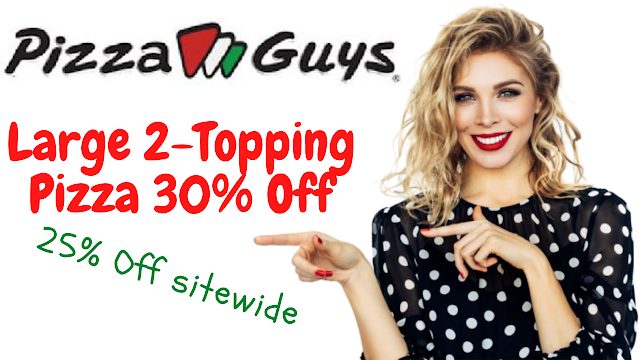 Pizza Guys Coupon - 25% Off w/2022 Promo Code