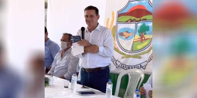 Matrinchã, Itapirapuã e Santa Fé de Goiás recebem benefícios do senador Vanderlan