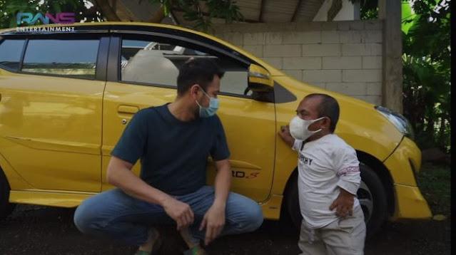 Ucok Baba Girang Dapat Mobil Rp 300 Juta dari Raffi Ahmad: Berasa Mimpi!