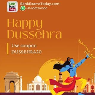 Dussehra Offer on BankExamsToday