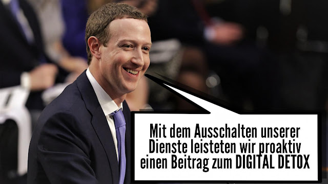 Zuckerberg Facebook down