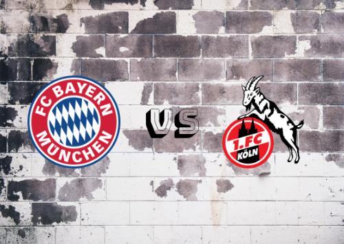 Bayern de Múnich vs Colonia  Resumen y Partido Completo