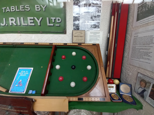 Bagatelle display at the Hyndburn Heritage Museum in the Accrington Arndale